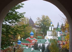 Успенский Псково-Печерский монастырь в городе Печеры Псковской области