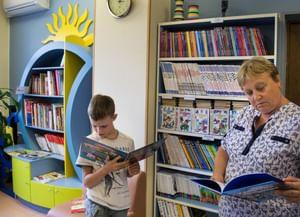 Библиотека № 195 на ул. Адмирала Лазарева, 61