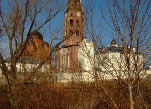 Троицкий Алатырский мужской монастырь в Чувашии