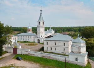 Тихвинский Керенский мужской монастырь в селе Вадинск Пензенской обл.