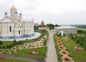 Спасо-Преображенский Усть-Медведецкий монастырь в городе Серафимович Волгоградской обл.