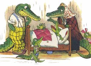 Крокодилу исполнилось сто лет