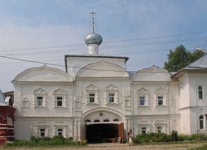 Николо-Улейминский женский монастырь в Угличском районе Ярославской области