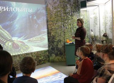 Интерактивная экскурсия «Загадки древнего моря»