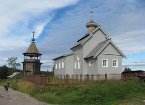 Храм Николая Чудотворца в Ковде Мурманской области