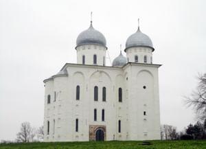 Собор Георгия Победоносца в Новгороде