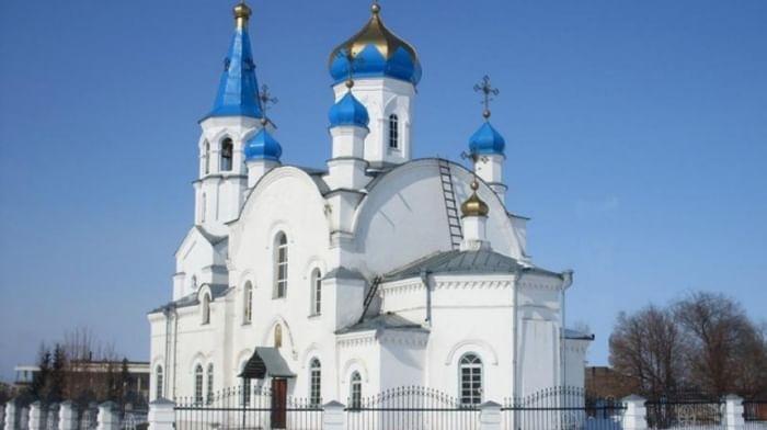 Храм Троицы Живоначальной в Красном Кемеровской области