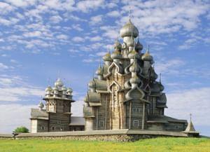 Храм Преображения Господня на Кижском Погосте в Карелии
