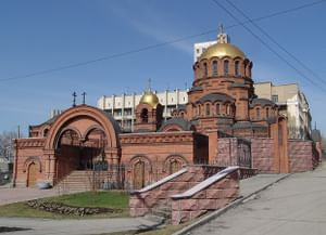 Собор Александра Невского в Новосибирске