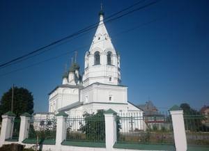 Храм Преображения Господня за Волгой в Костроме (Спасо-Преображенский храм)