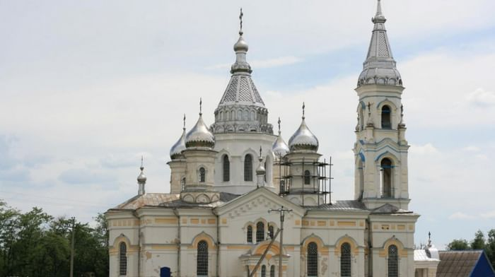 Храм Николая Чудотворца в Дмитриевском Ставропольского края