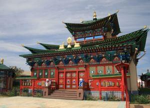 Иволгинский дацан (Хамбын Сумэ) в Республике Бурятия