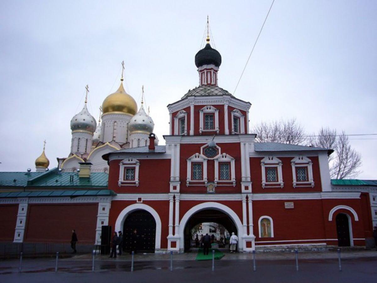Картинки по запросу 5. Зачатьевский монастырь москва
