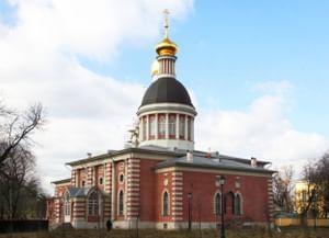 Храм Рождества на Рогожском кладбище (Храм Рожества Христова) в Москве