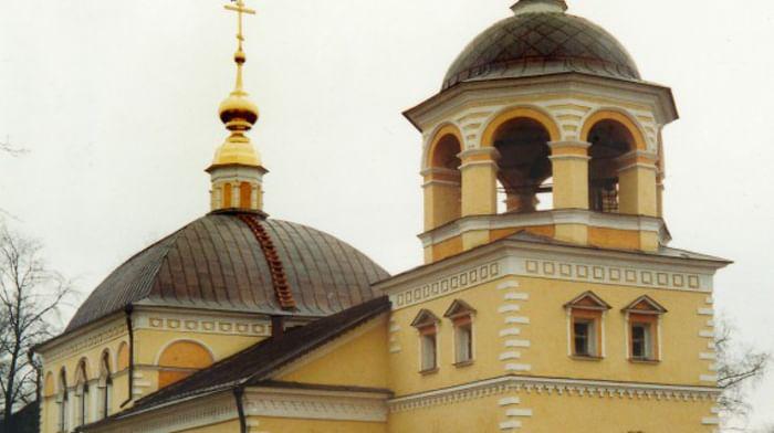 Храм Воздвижения Креста Господня (главная часовня) (Соборный Храм Воздвижения Креста Господня) в Москве