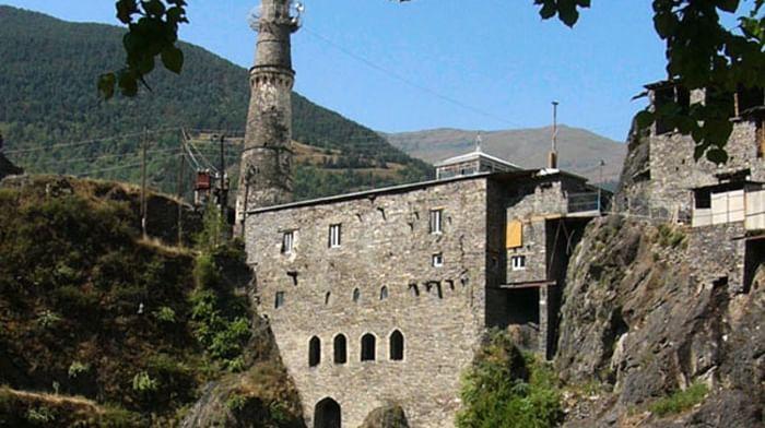 Мечеть селения Тинди в Дагестане
