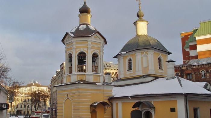 Храм преподобного Сергия Радонежского в Крапивниках в Москве