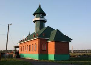 Мечеть в селе Энгуразово Тамбовской области