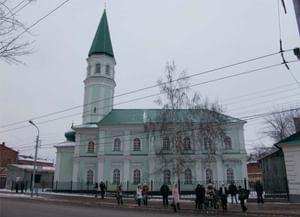 Мечеть Хусаиния в Оренбурге