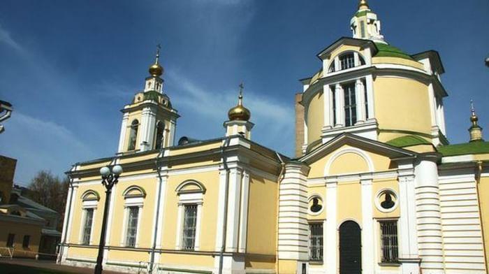 Храм святителя Николая Мирликийского в Кузнецкой Слободе в Москве