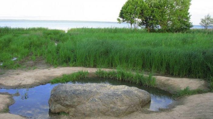 Синь-камень в Переславле-Залесском