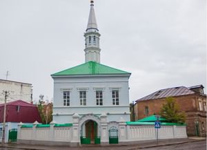 Голубая мечеть (Четвёртая соборная, тат. Zəŋgər məçet, Зәңгәр мәчет) в Казани