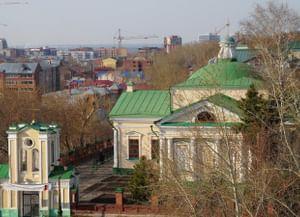 Храм Покрова Пресвятой Богородицы Царицы Святого Розария в Томске (Церковь Покрова Пресвятой Богородицы)