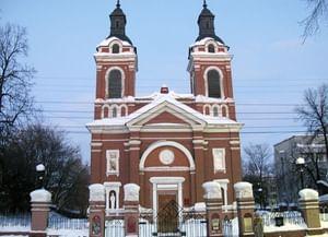 Александровский костёл (Храм Пресвятого Сердца Иисуса, Польский костел) в Кирове