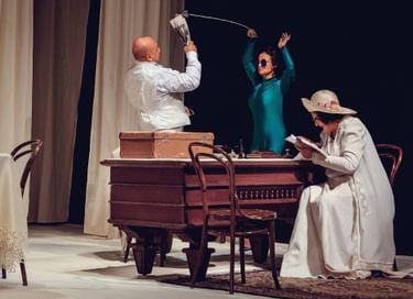 Спектакль «Браво, Чехов! или О чем пели соловьи»
