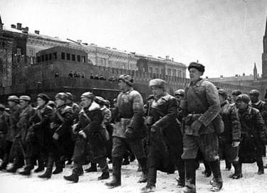 Флешмоб «Парад 41-го года – предвестник Победы!»