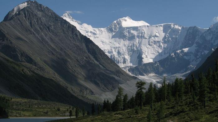 Золотые горы в Республике Алтай