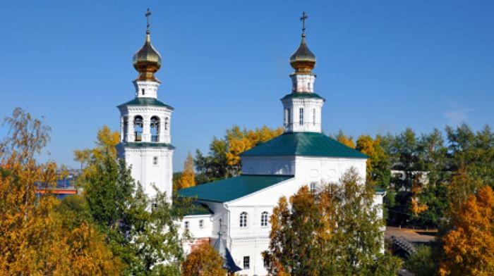 Свято-Троицкий Храм в Архангельске