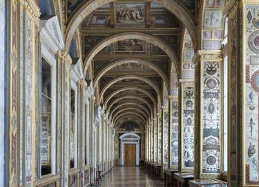 Виртуальная выставка «Гравюры с росписей лоджий Рафаэля в Ватикане»