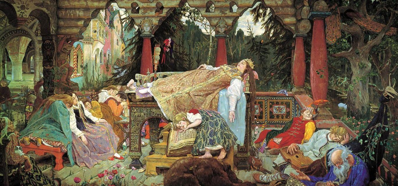 Диснеевские принцессы в трактовке Пушкина, Аксакова и Жуковского. Галерея 3