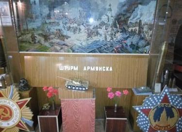 Выставка в зале «Боевой славы», посвящённому Великой Отечественной войне