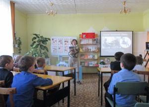 Детская библиотека № 6 г. Лесосибирска