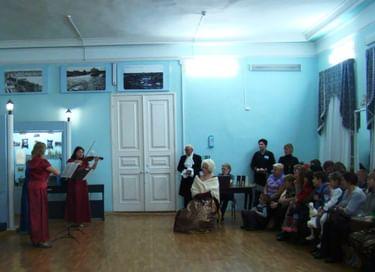 Ночь искусств в Очерском краеведческом музее