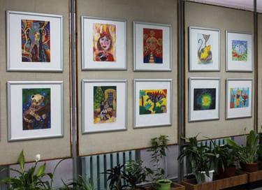 Выставка «Мастерская юного художника»