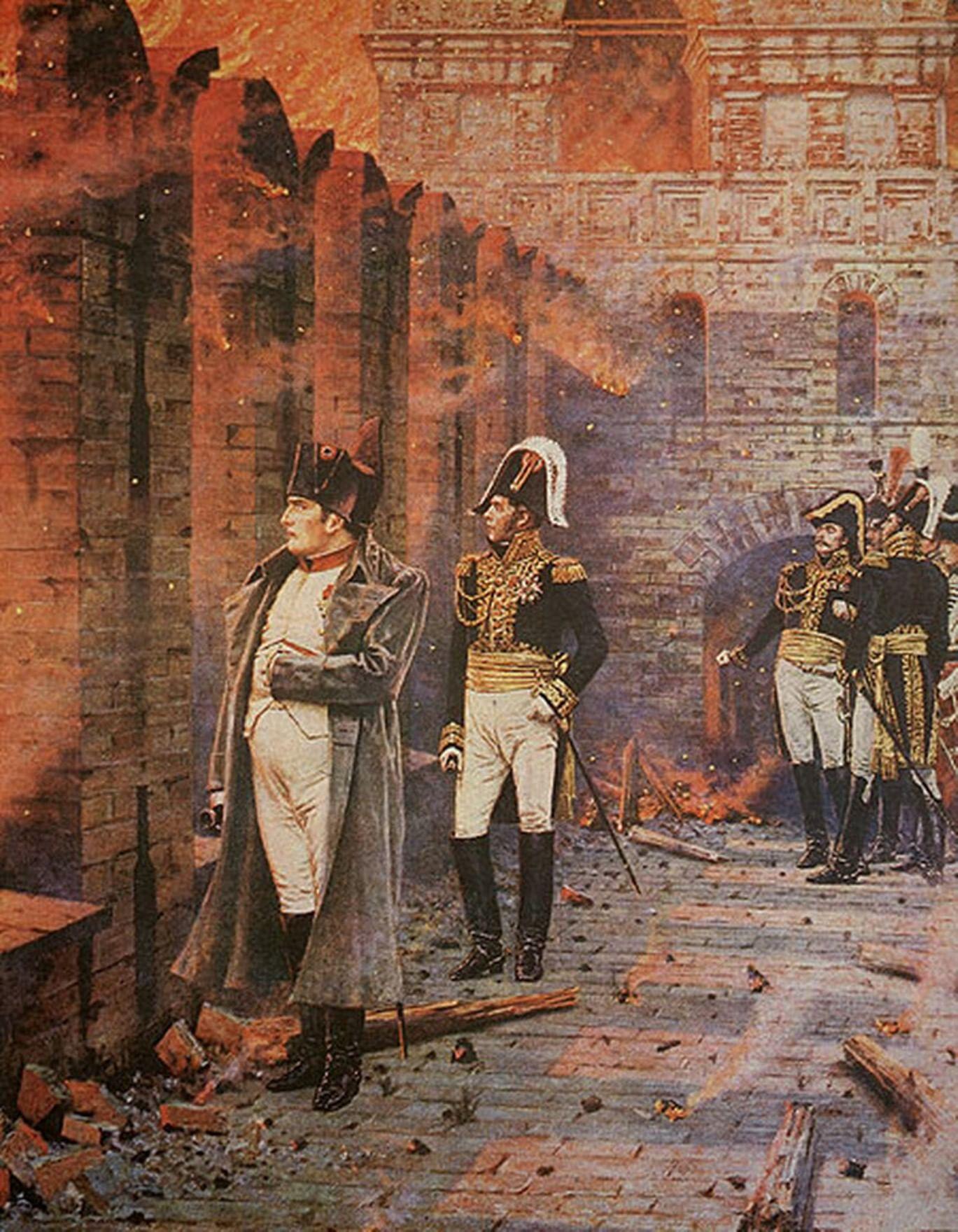 Пожар 1812 года: Москва до и после. Галерея 1
