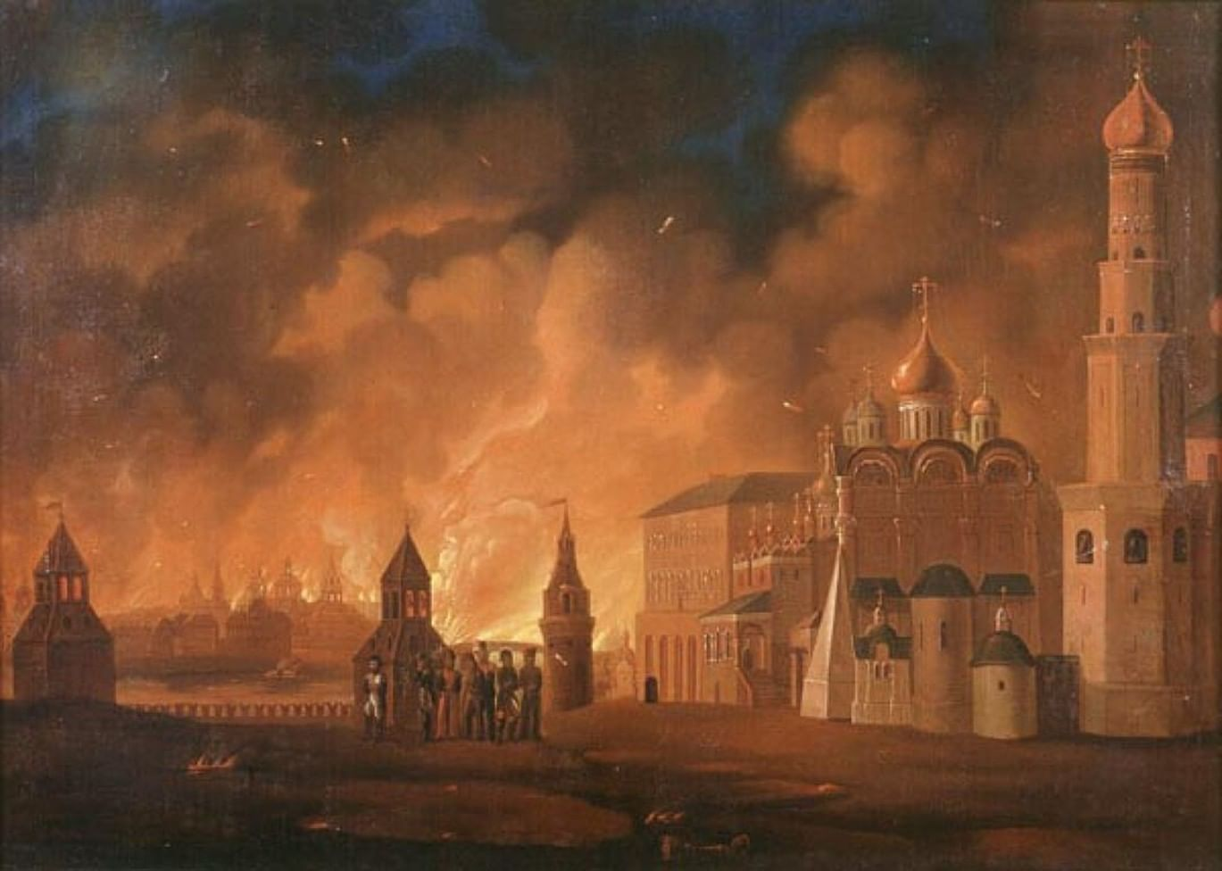 Пожар 1812 года: Москва до и после. Галерея 2