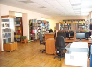 Модельная библиотека села Малая Салаирка