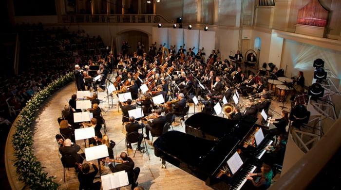 Никита Борисоглебский, Филипп Копачевский, Национальный филармонический оркестр России, Константин Хватынец