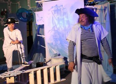 Спектакль «Пират Антошка»