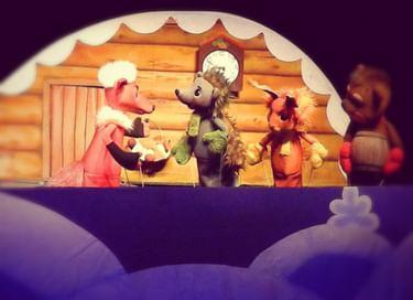 Спектакль «Ёжик и ёлка»