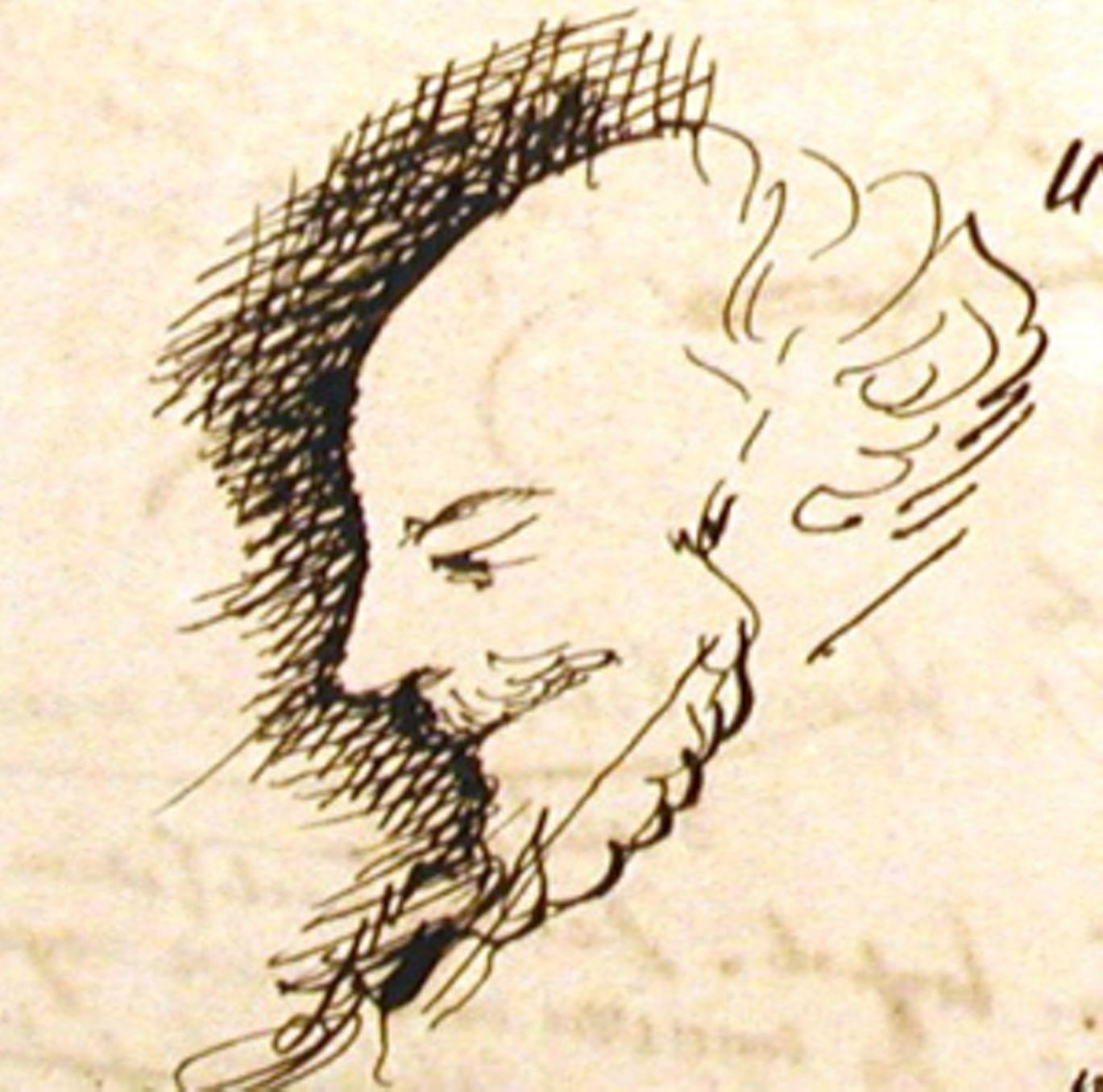 Рисунки Достоевского к его рукописям 2