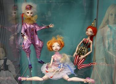 Экспозиция Музея кукол О. Свидерской