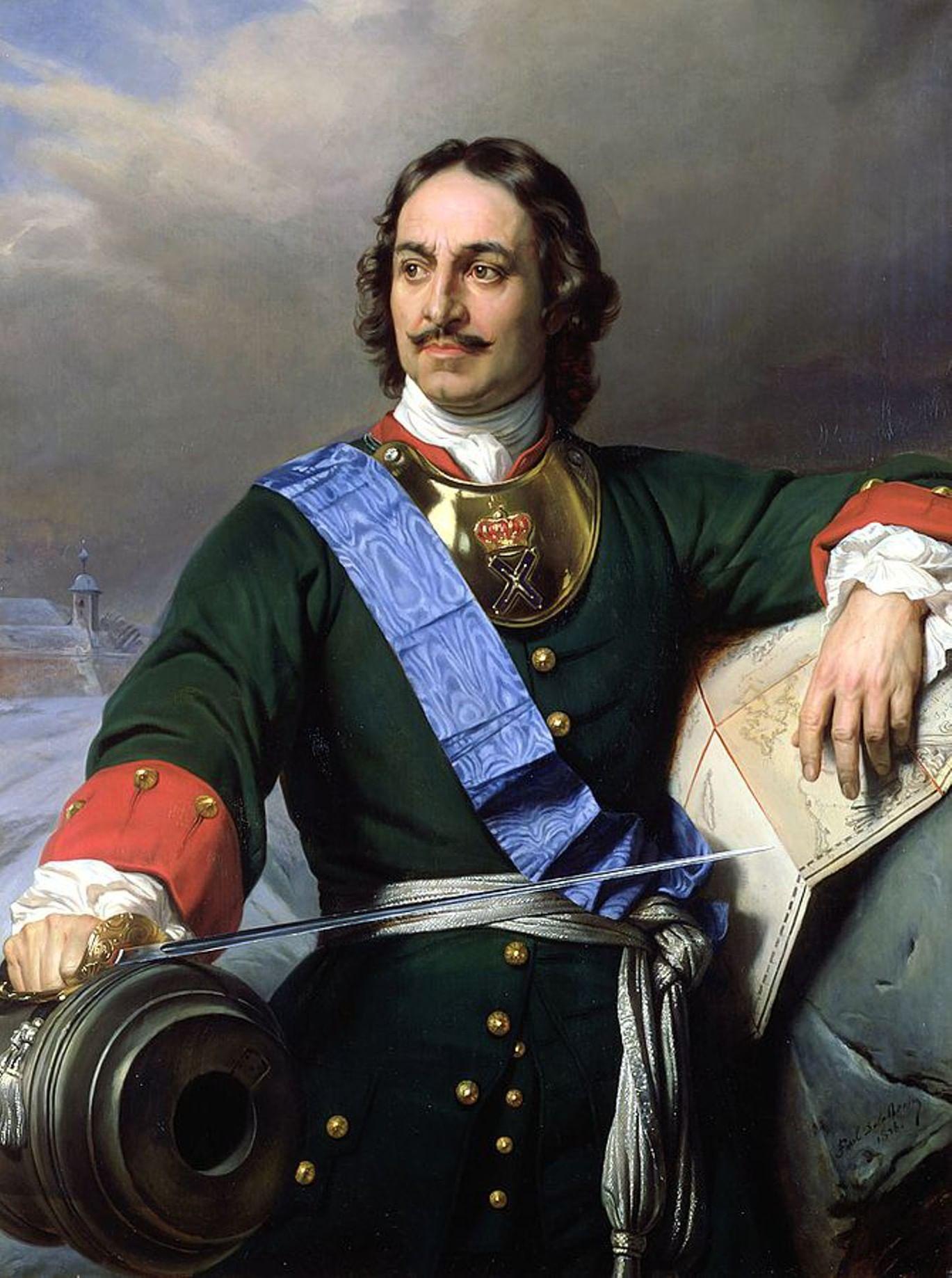 Пушки и русское искусство. Галерея 3. Императорские портреты