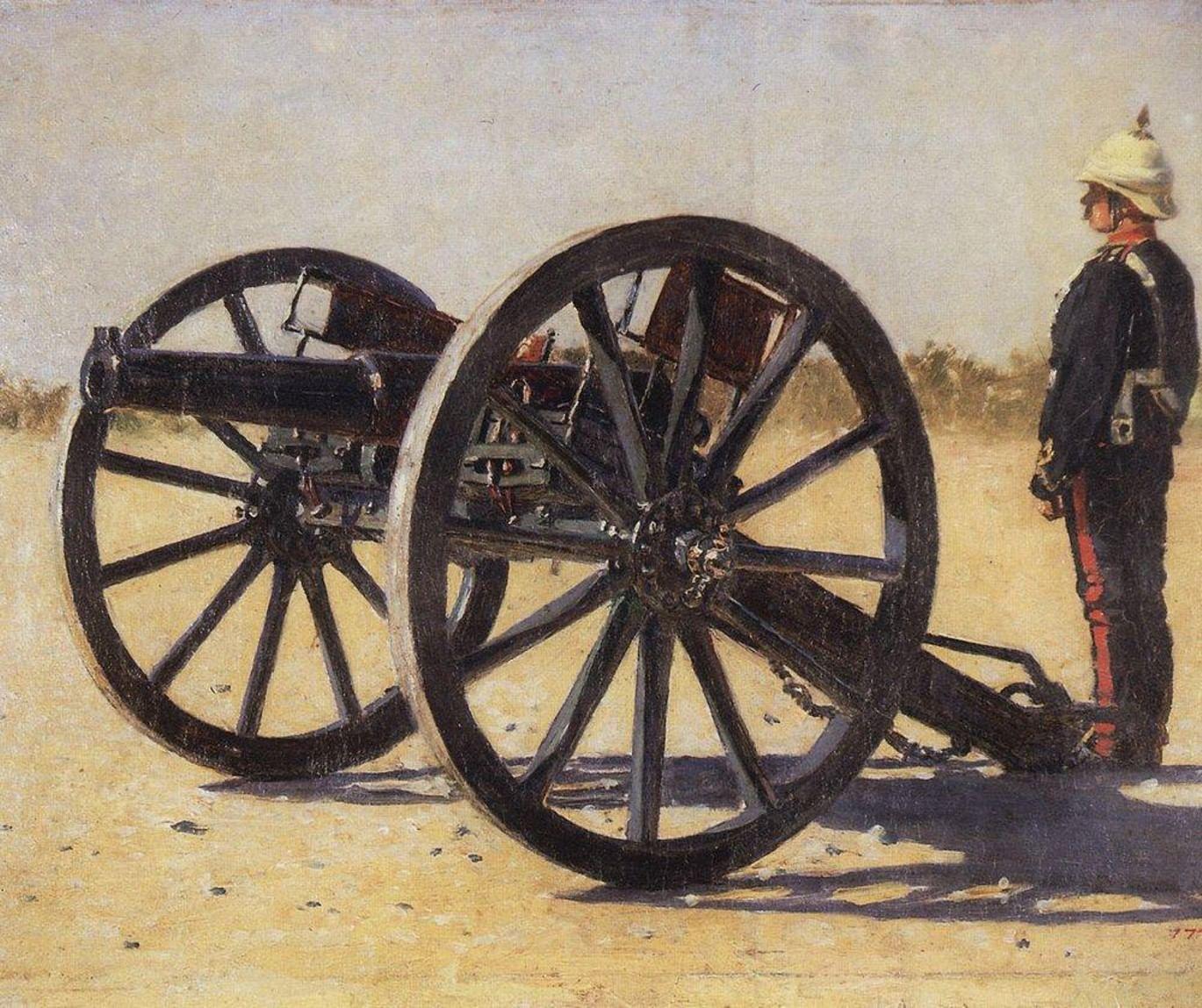 Пушки и русское искусство. Галерея 6. Британская жестокость