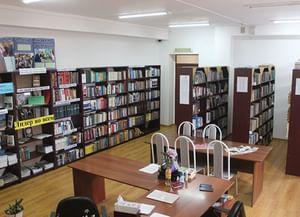 Центральная библиотека села Шатой
