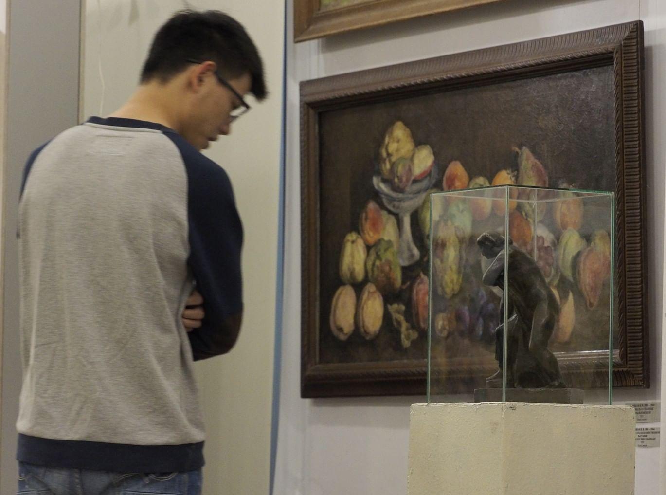 Фоторепортаж: «Триумф и идиллия» в Волгоградском музее изобразительных искусств. Галерея 1